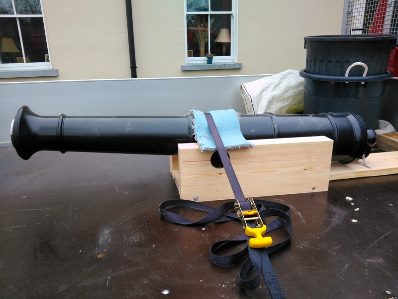 A 3D printed shooting cannon made with Modix Big-60. Image via Modix