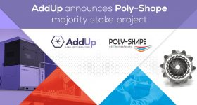 AddUp announces Poly-Shape majority stake project. Photo via AddUp