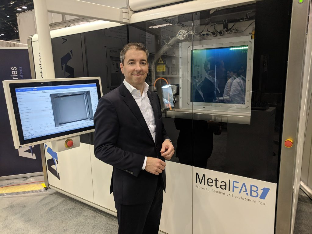 Additive Industries CEO Daan Kersten. Photo by Michael Petch.