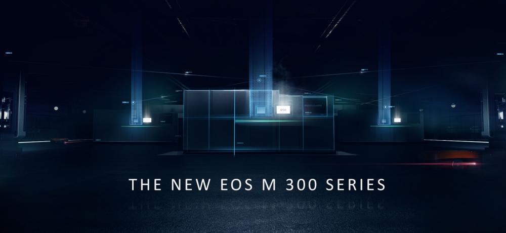 EOS M 300 series metal 3D printers. Image via EOS