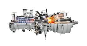 A Siemens SGT-700 industrial gas turbine. Image via Siemens