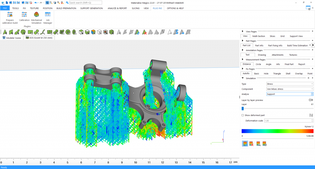 Materialise Simulation Module 4. Image via Materialise.