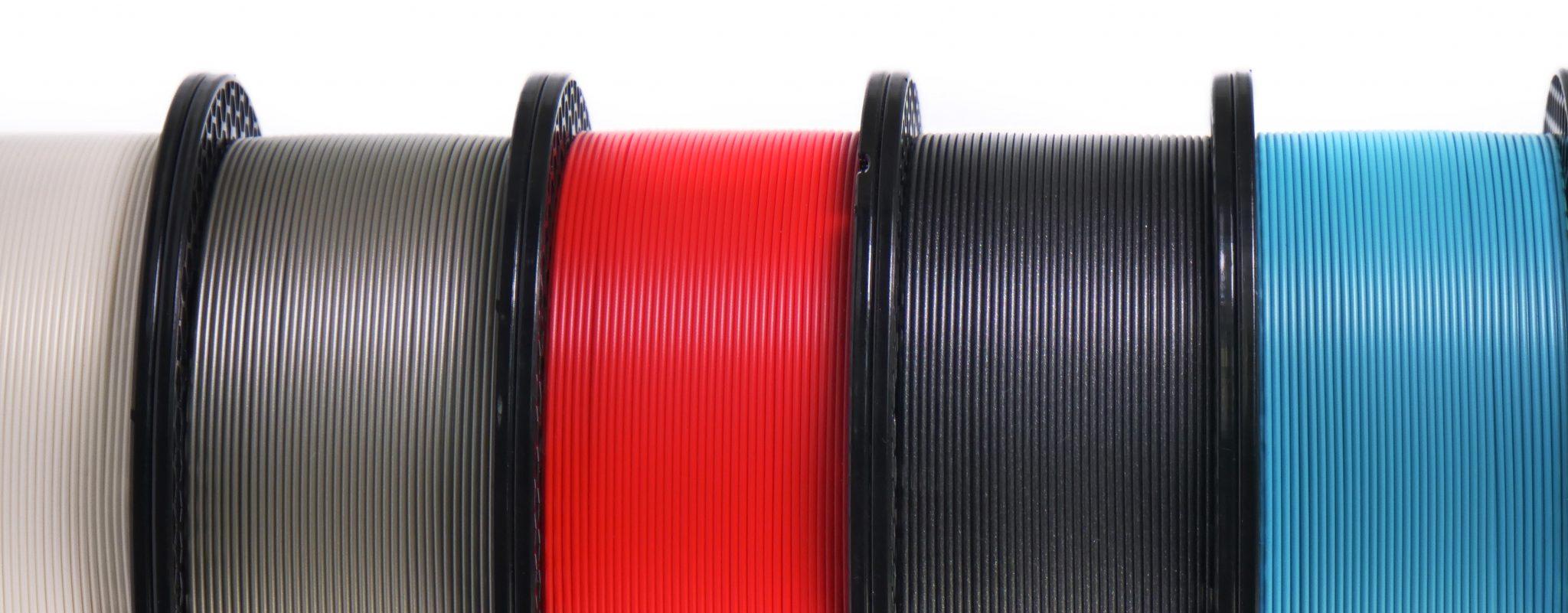Prusament filaments. Photo via Prusa Research.