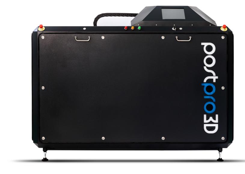 The PostPro3D system. Photo via PostPro3D.