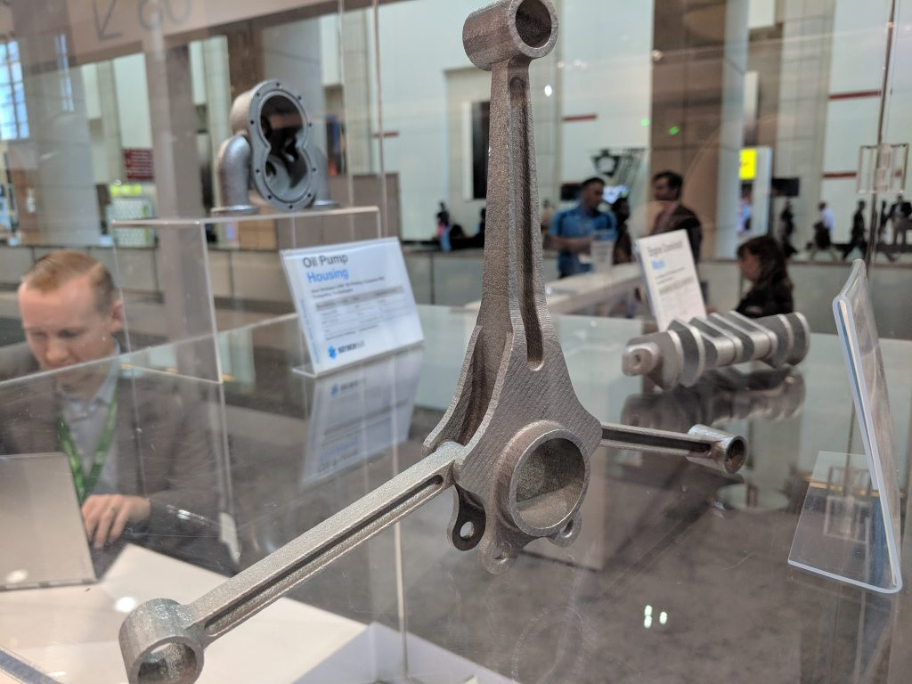 Stratasys metal AM at IMTS 2018. Photo by Michael Petch.