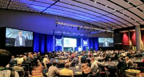 The Additive Manufacturing Conference begins at IMTS 2018. Photo by Michael Petch.