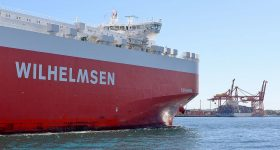 A Wilhelmsen logistics carrier ship. Photo by Bahnfrend/CC