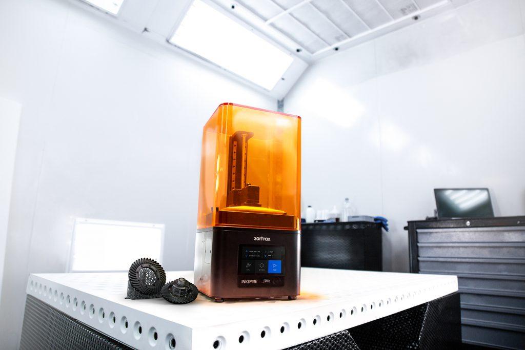 The Inkspire 3D printer. Photo via Zortrax