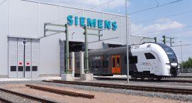 The Siemens Mobility RRX Rail Service Center. Photo via Siemens.