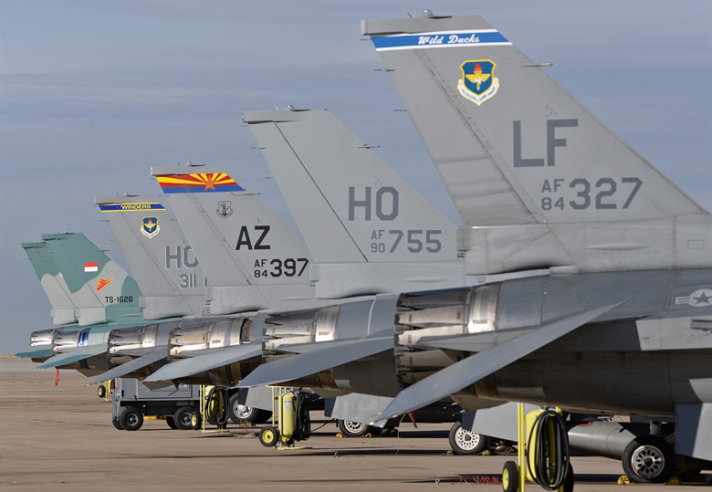 The Hill Air Force Base, Utah. The MAMLS project has brought advanced 3D printing capabilities to the air base. Image via Hill Air Force Base. Image via Hill Air Force Base.