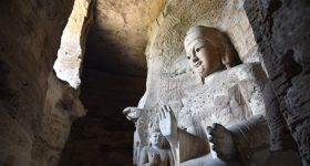 Yungang Grottoes are a cradle of Buddhist art, playing host to more than 51,000 sculptures. Photo by Zhang Xingjian.