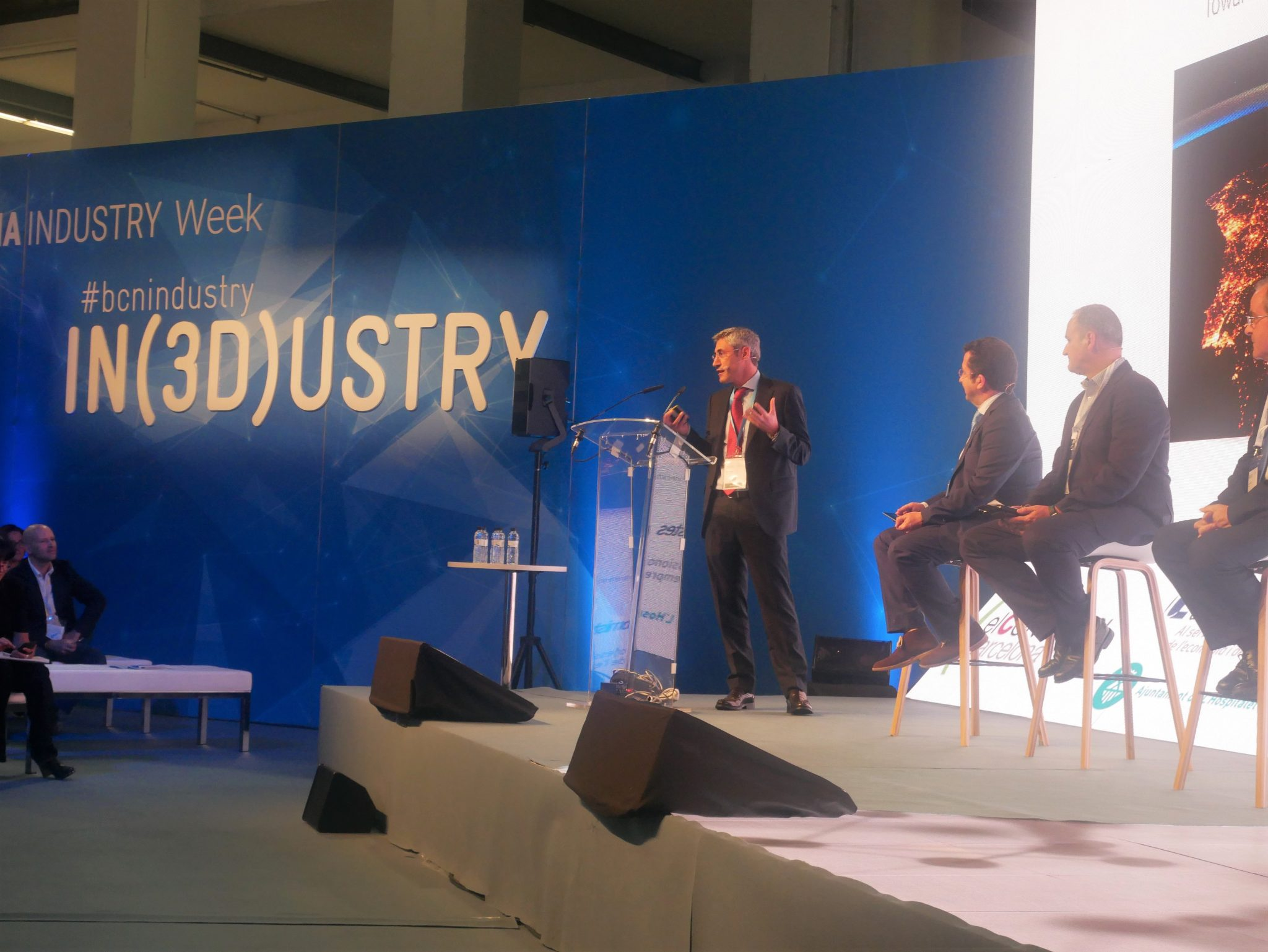 Ramon Pastor at IN(3D)USTRY.Photo by Tia Vialva.