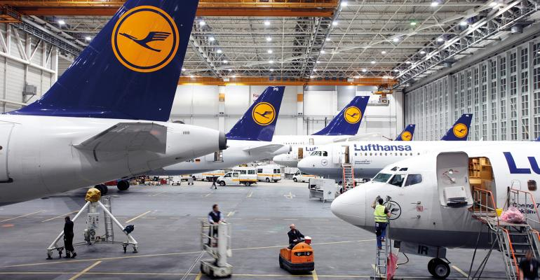 The Lufthansa facility in Hamburg, Germany. photo via Lufthansa.