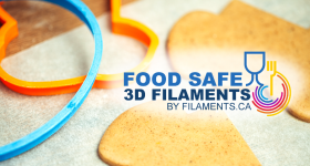 Food Safe 3D Filaments. Image via Filaments.ca
