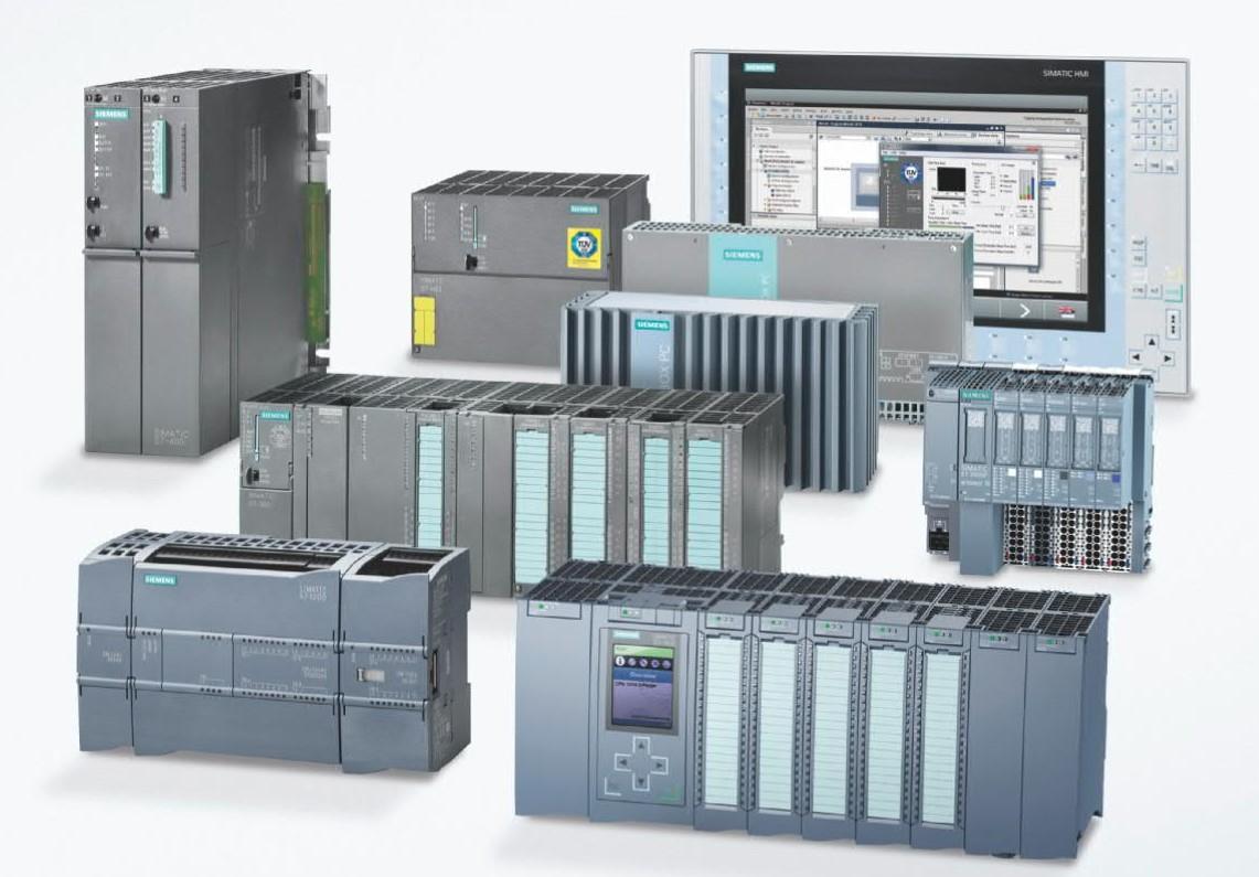 Siemens' SIMATIC controllers. Image via Siemens.