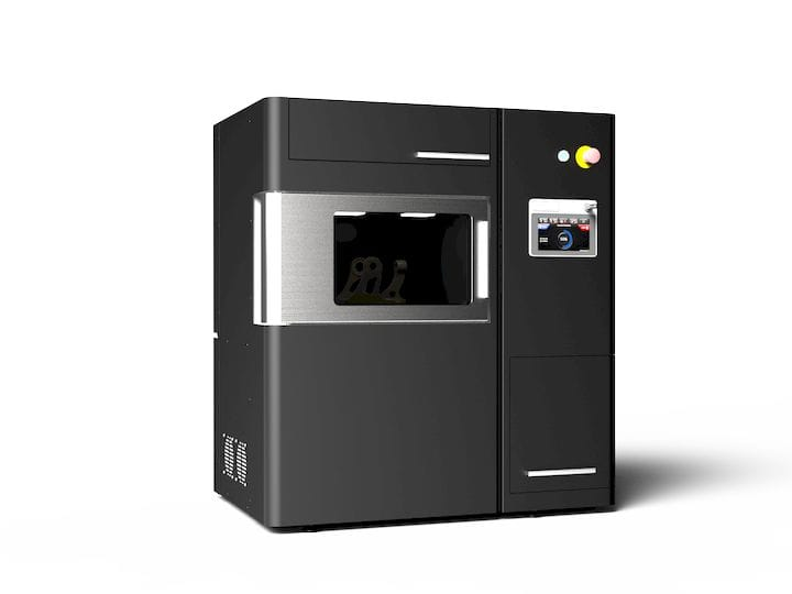 miniFactory Ultra, a 250°C heated chamber PEEK 3D printer. Photo via miniFactory