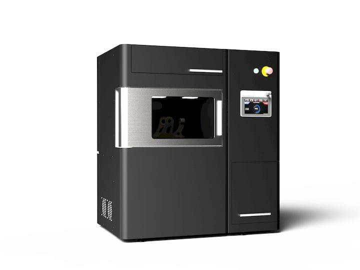 miniFactoryUltra, a 250°C heated chamber PEEK 3D printer. Photo via miniFactory