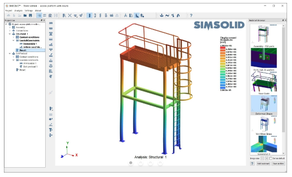 The SIMSOLID software. Image via SIMSOLID.