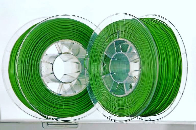 An antibacterial 3D printing certification filament PLACTIVE. Photo by Copper3D.