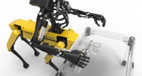 The Youbionic One and Boston Dynamics mechanical centaur. Photo via Youbionic.