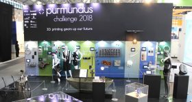Purmundus Challenge 2018 at Formnext. Photo via Purmundus Challenge