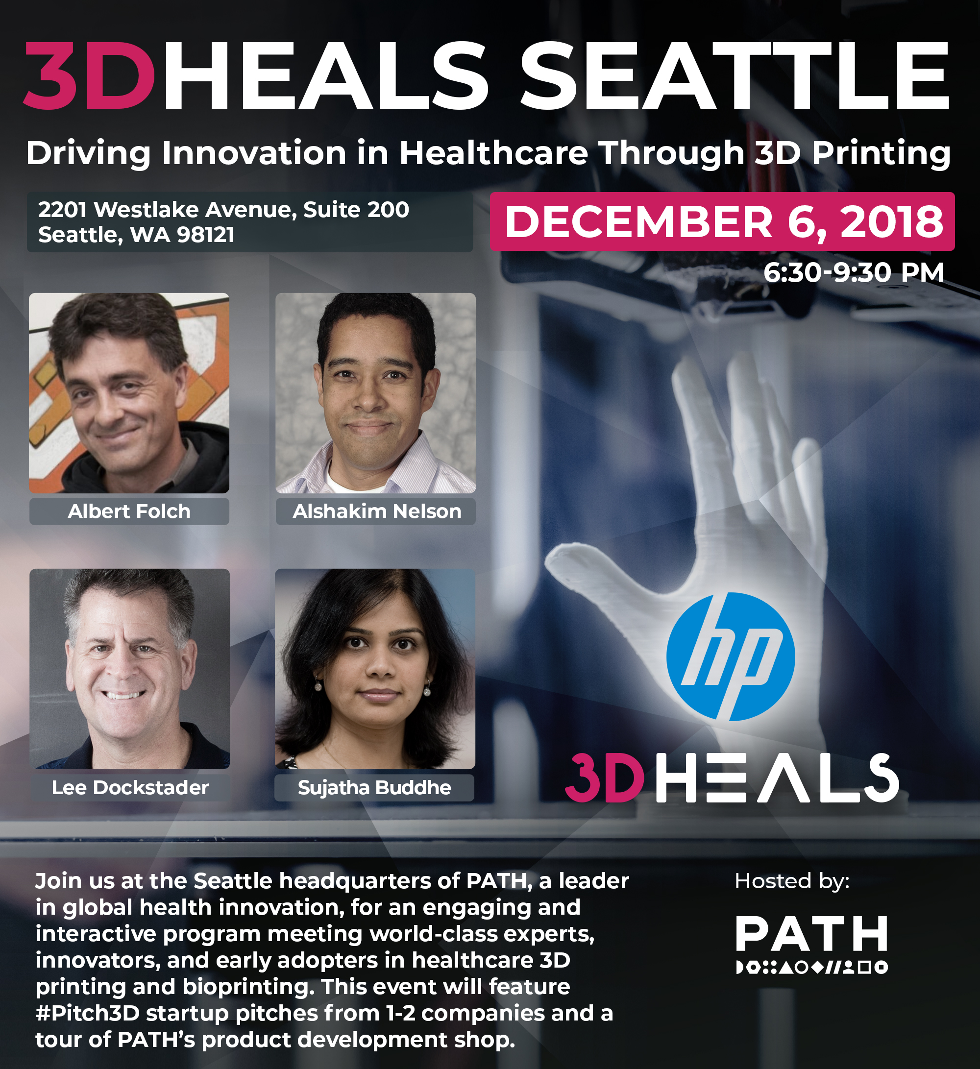 3DHEALS Seattle Event_Flyer