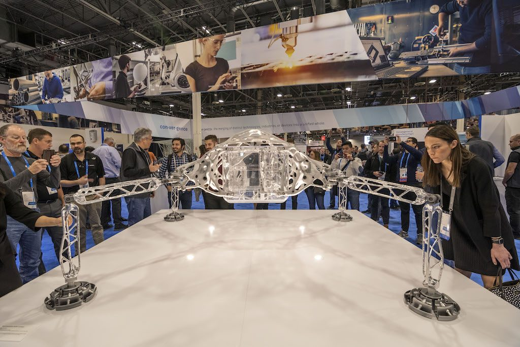 The Lander showcased at the Autodesk University. Image via Autodesk