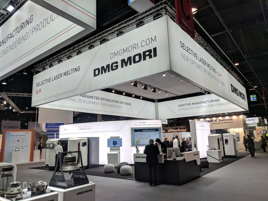 DMG Mori at Formnext 2018. Photo by Michael Petch.
