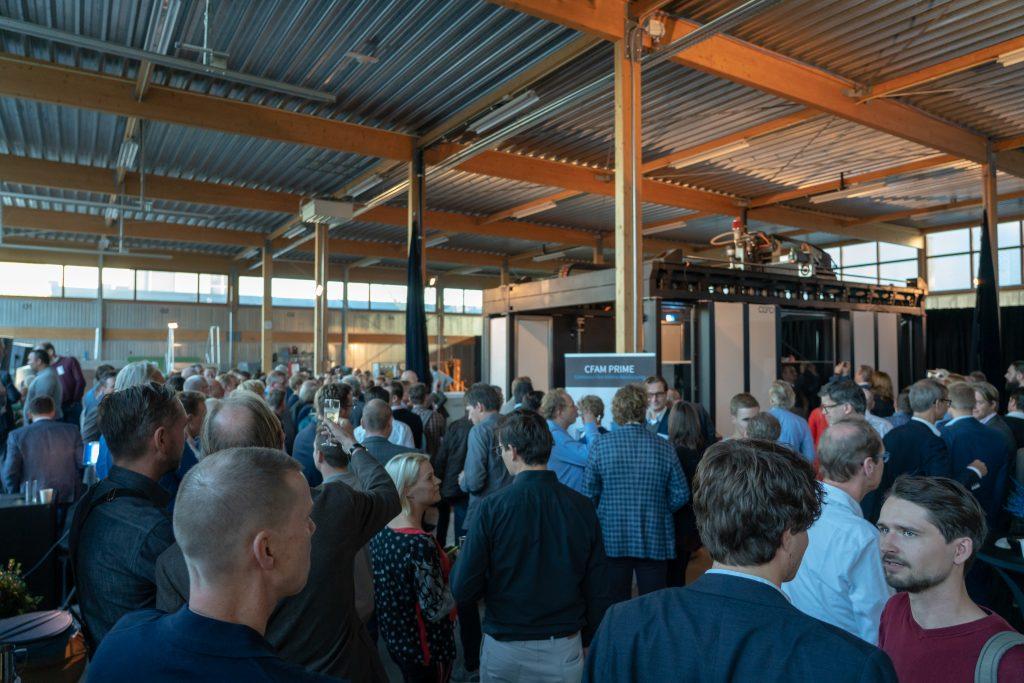 The CEAD CFAM Prime launch event. Photo via Gijs Lokker.