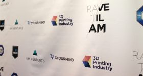 The Rave Til AM sponsor banner.