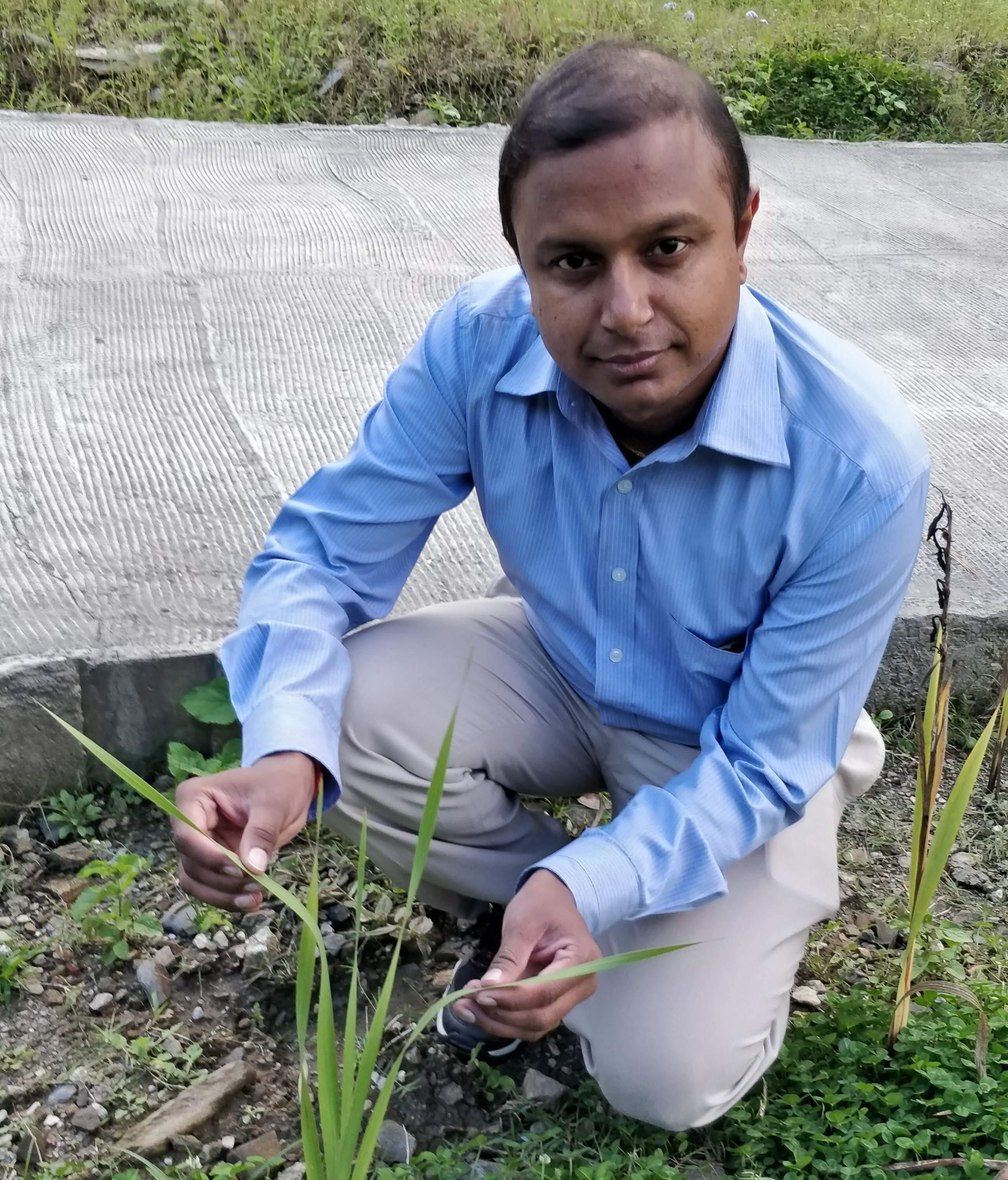 Research team leader Dr Krishnan. Image via EDexLive
