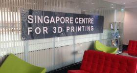 Inside the Singapore Centre for 3D Printing. Photo via SC3DP.