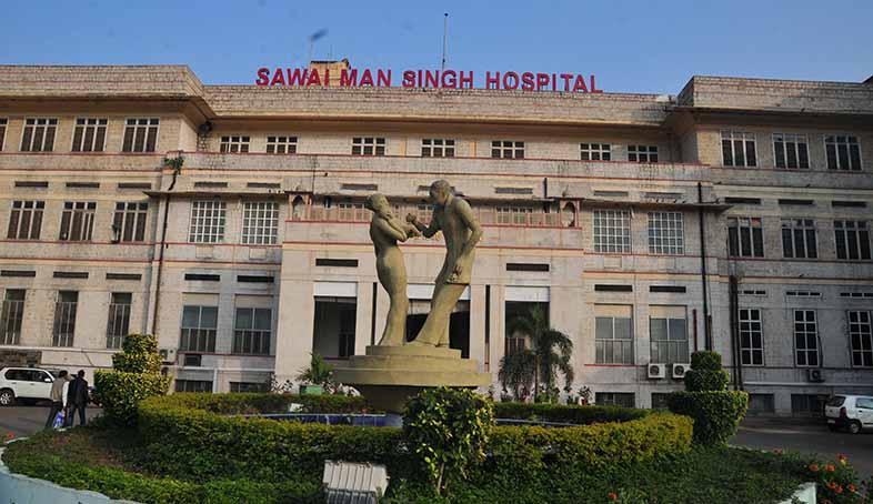 A front-view of the SMS Hospital. Image via PinkCity Post