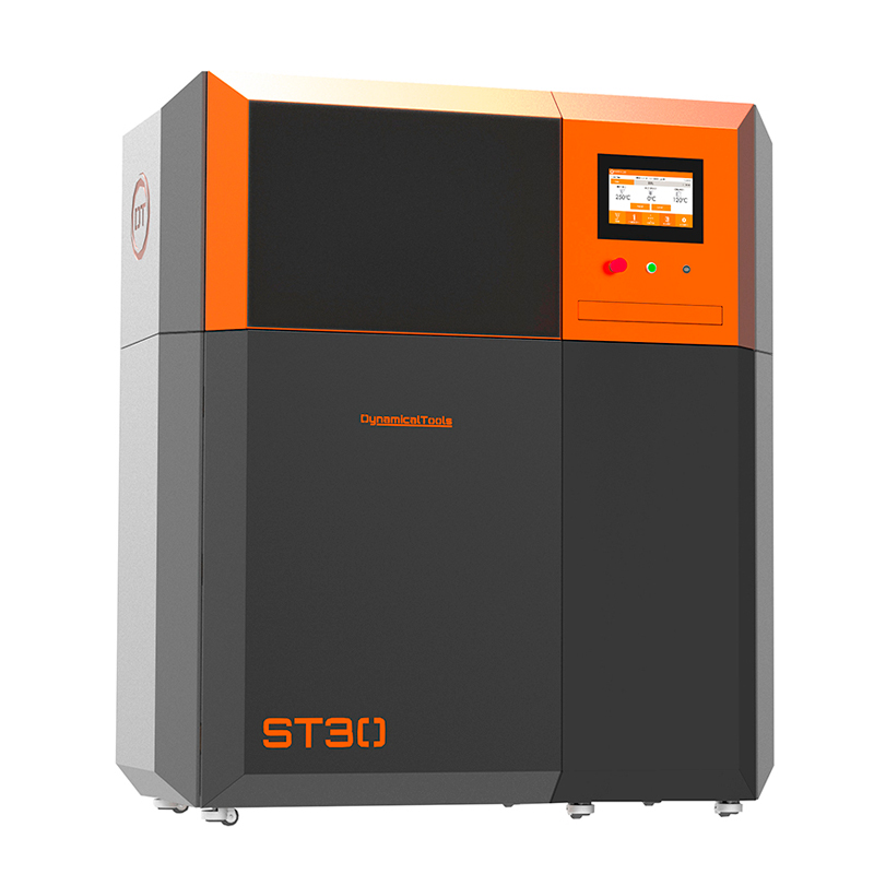 The ST30 laser sintering system. Photo via Dynamical Tools