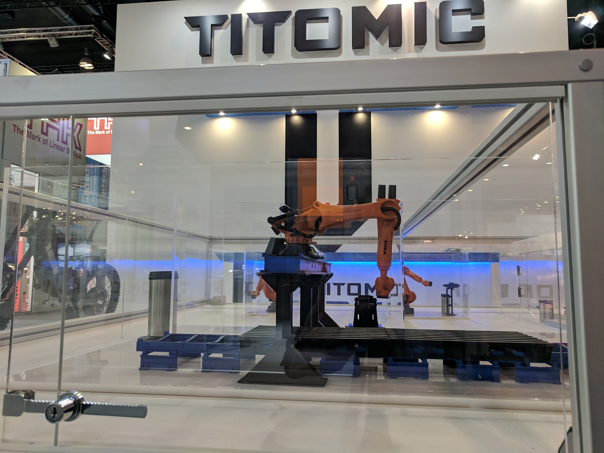 Titomic at Formnext 2018. Photo by Michael Petch.