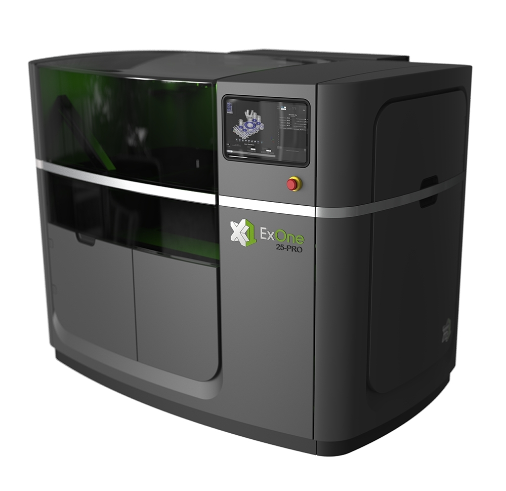 The X1 25PRO 3D printer. Photo via ExOne.