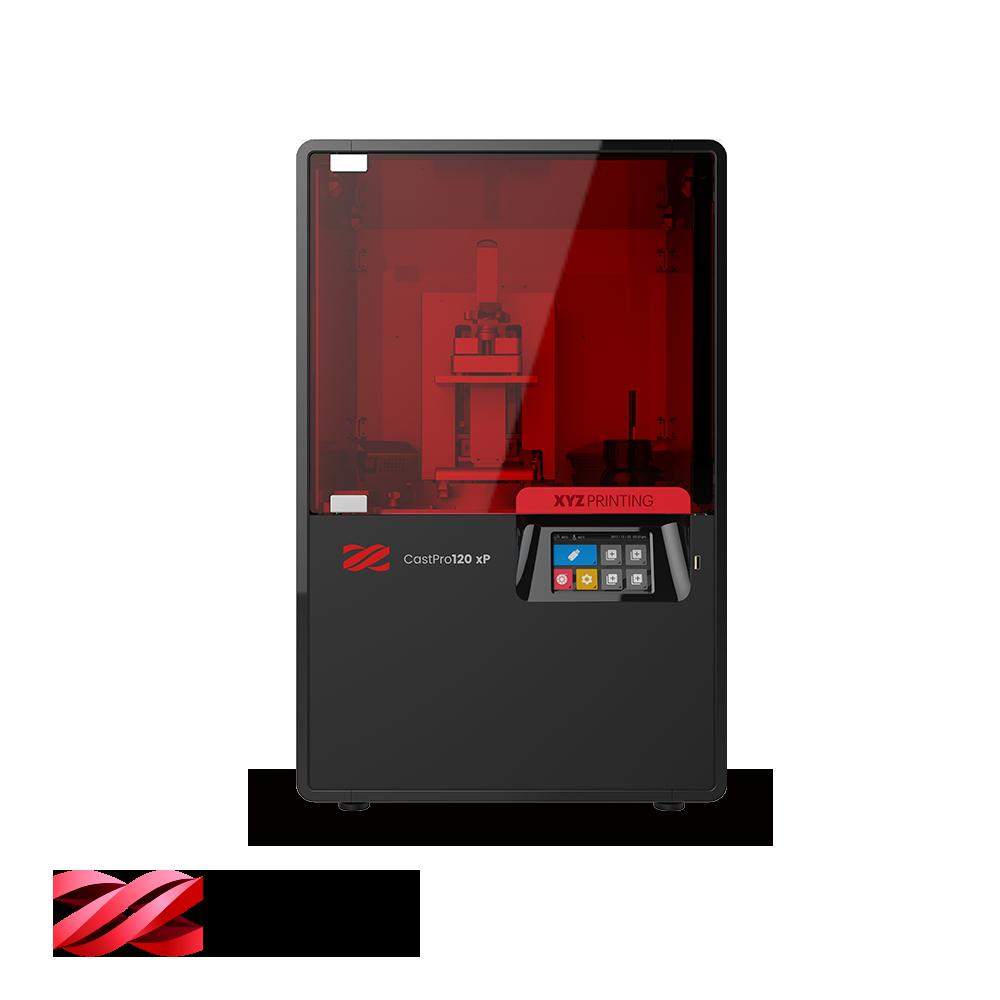 The CastPro120 xp DLP printer. Image via XYZprinting