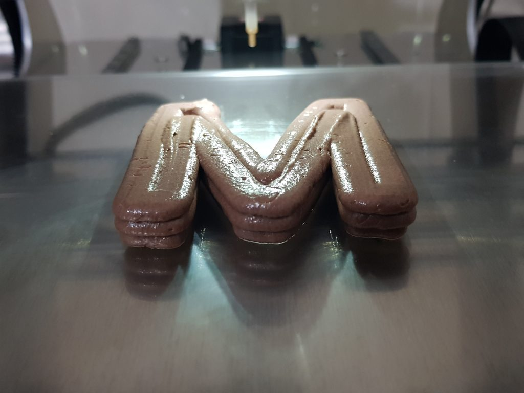 M initial paste extrusion on the VX.