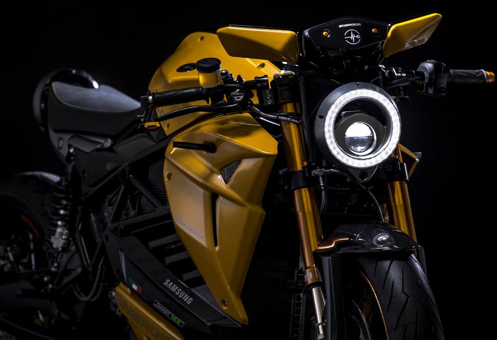 The Bolid-E motorcycle. Photo via Energica.