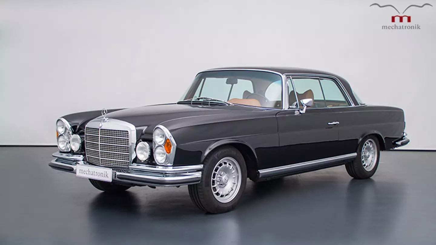 The luxury car W111 by Mercedes-Benz. Image via Mercedes Benz