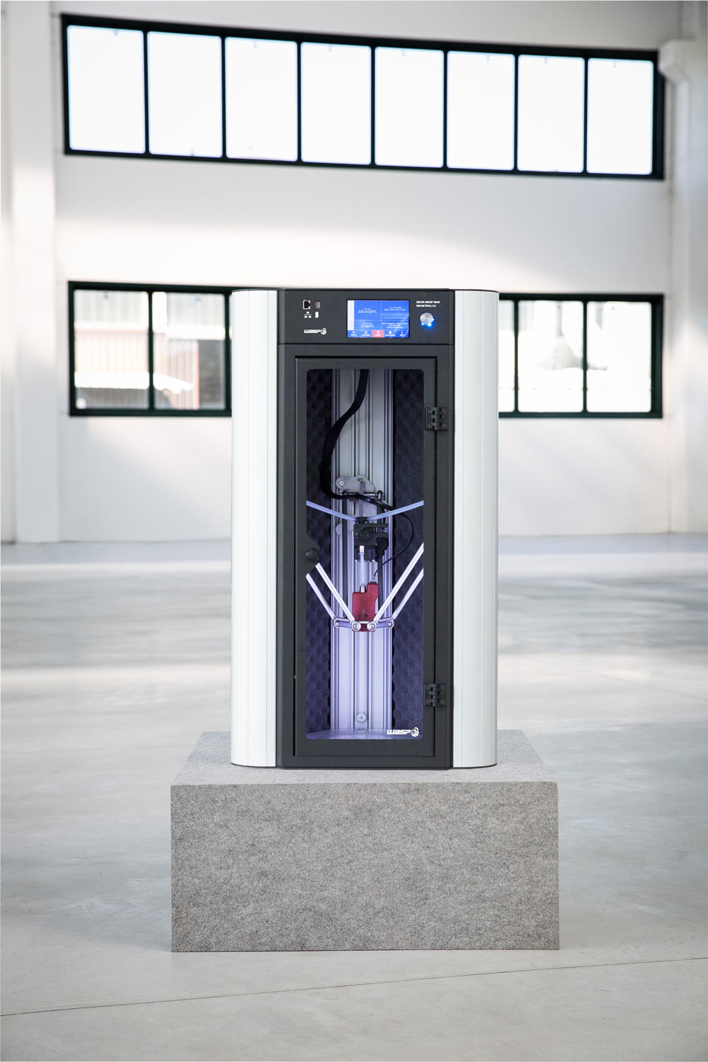 The Industrial Line 4.0 3D printer. Photo via WASP.