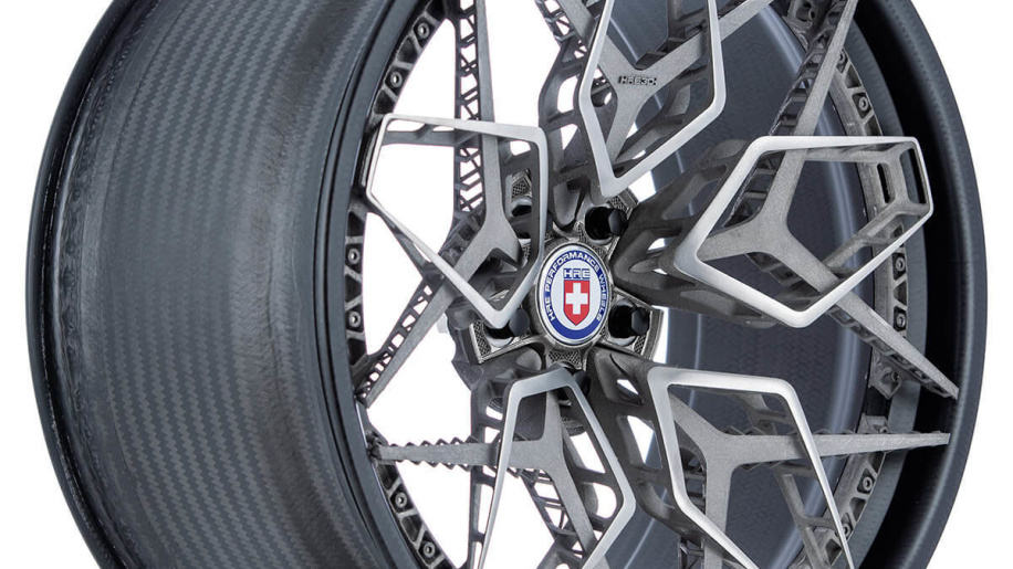 hre wheels and ge additive unveil 3d printed titanium wheel