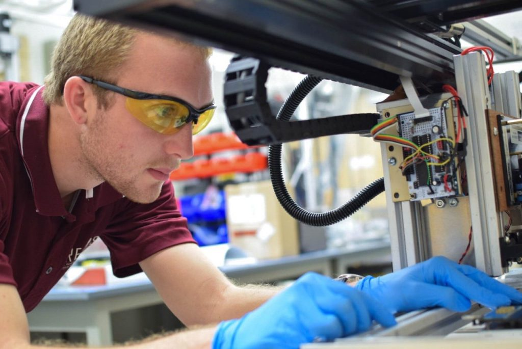 DREAMS Lab PhD student and Kapton study co-author Daniel Rau. Photo via VT News