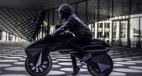 The Nera e-motorbike by BigRep. Image via BigRep
