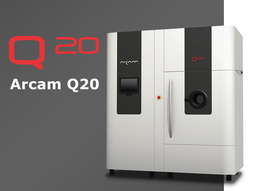The Arcam q20 EBM 3D Printer. Image via Arcam
