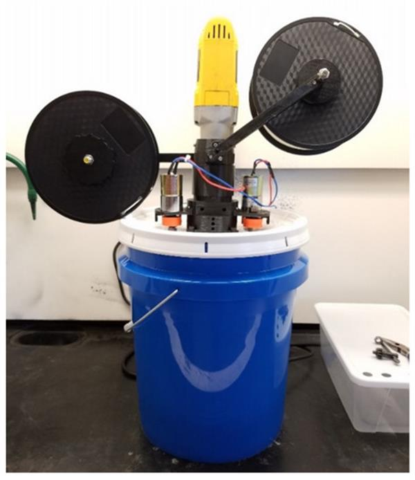 A 3D Printable Polymer Pelletizer Chopper. Photo via Michigan Technological University.
