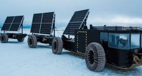 The 16m long Solar Voyager. Image via Climate Change