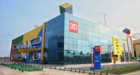 Think3D's new 3D printing facility in the AP MedTech Zone park. Image via think3D