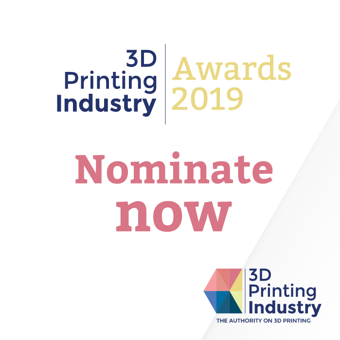 The 2019 3D Printing certification Industry Awards.