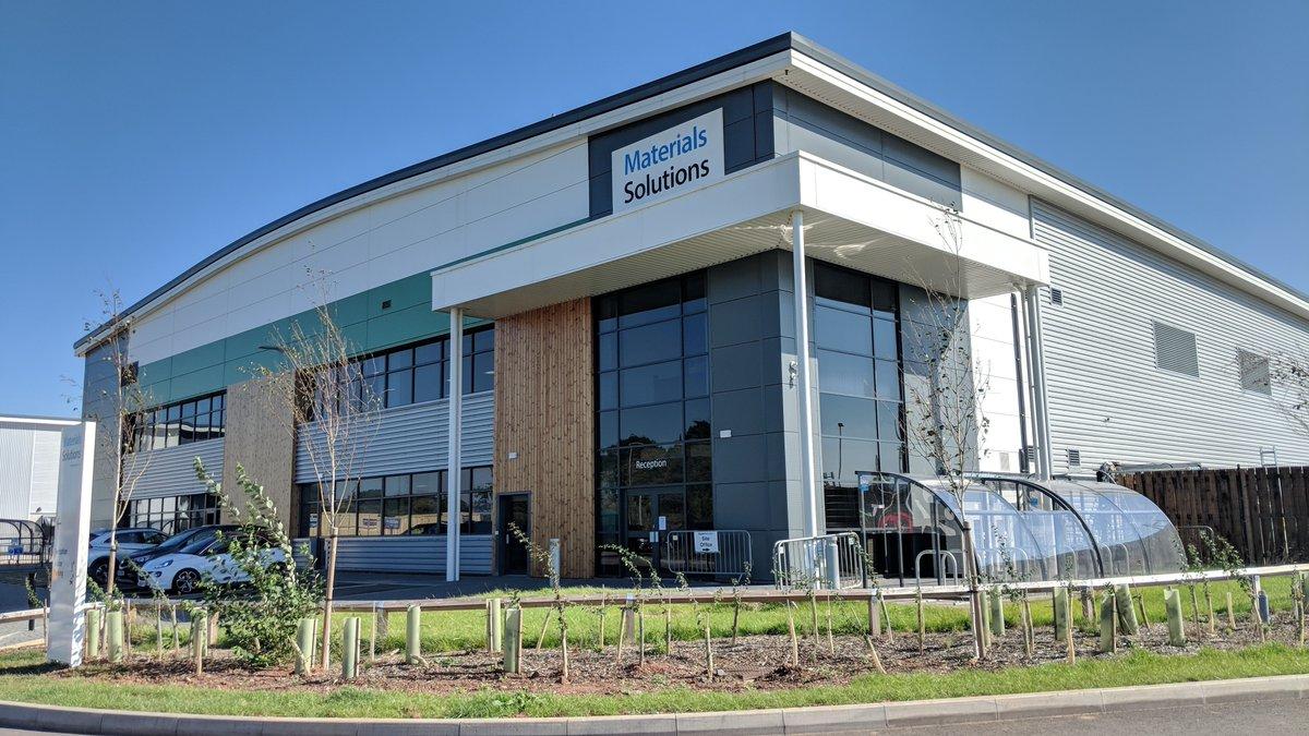 The Materials Solutions Digital Factory. Photo via Siemens.